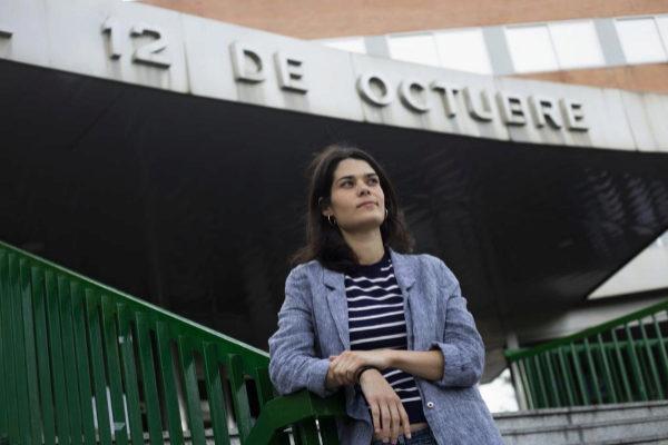Isabel Serra, candidata de Podemos a la Comunidad de Madrid.