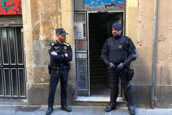 Operación de los Mossos d'Esquadra.