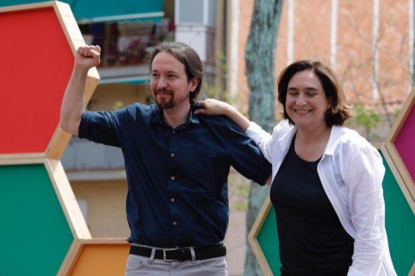 Barcelona, 11 de Mayo de 2019 Mitin de campaña para las elecciones...