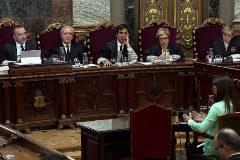 La abogada Silvia Carmona declara en el juicio del 1-O