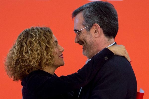 Meritxell Batet y Manuel Cruz, candidatos socialistas a presidir el...