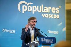 """Oyarzábal reclama a los alaveses """"unir el voto en torno al PP"""" frente a los nacionalistas"""