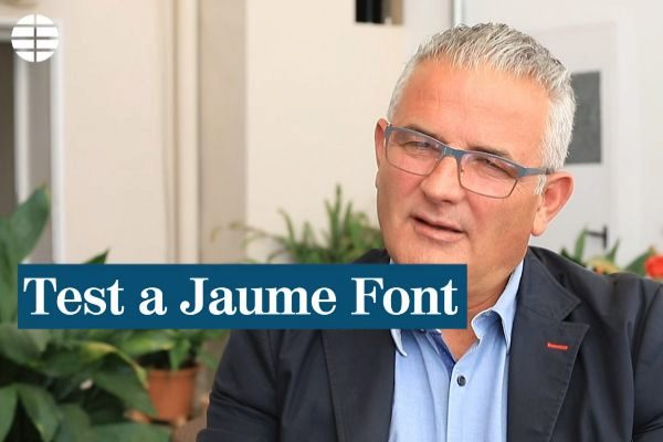 """Jaume Font: """"La semana pasada lloré"""""""