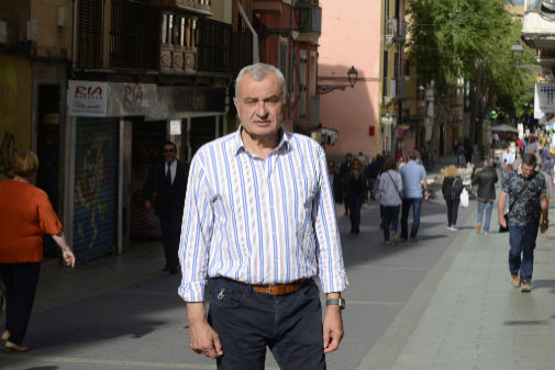 El candidato de Vox en Palma, Fulgencio Coll