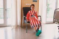 Una de las batas diseñadas para niños enfermos por la revista 'Panenka'.