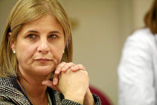 La diputada del PP María José García Pelayo.