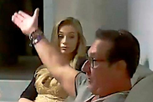 Vídeo de la reunión de Strache con la presunta hija de un oligarca ruso.