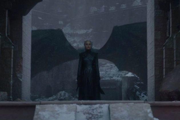 Daenerys Targaryen (Emilia Clarke) en el capítulo final de Juego de Tronos, que ha dejado muchos grandes momentos