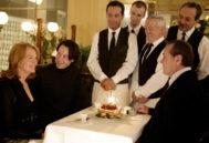 Diane Keaton, Keanu Reeves y Jack Nicholson en la película 'Cuando menos te lo esperas'/ Foto: ÁLBUM ONLINE.