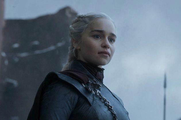 Daenerys Targaryen (Emilia Clarke) en el capítulo final de Juego de Tronos en HBO, que ha dejado muchos memes