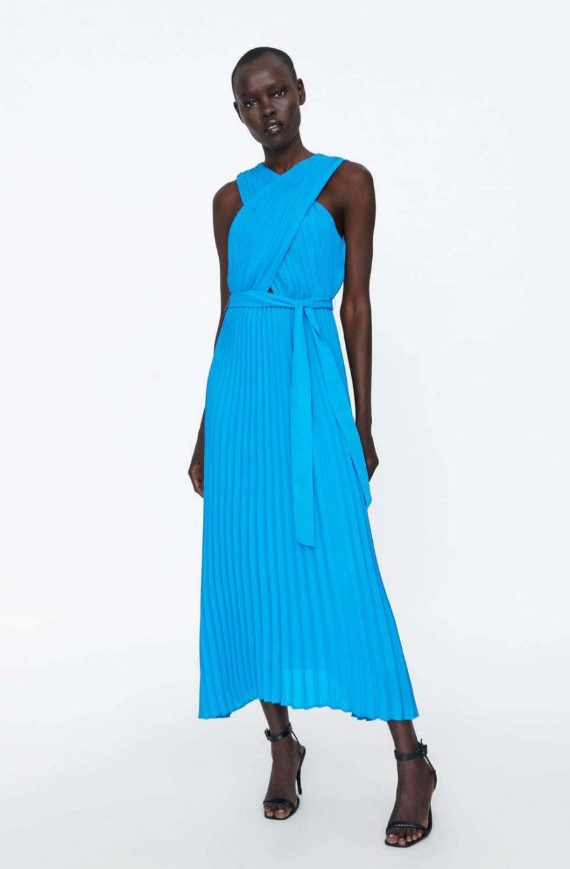 el mejor diseño moderno a bajo precio barata Este es el vestido de Zara con el que triunfarás en todos ...