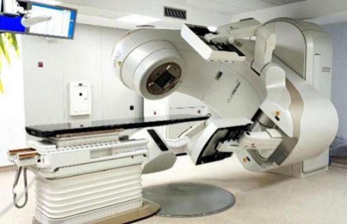 radiación de rayos verdaderos para el cáncer de próstata
