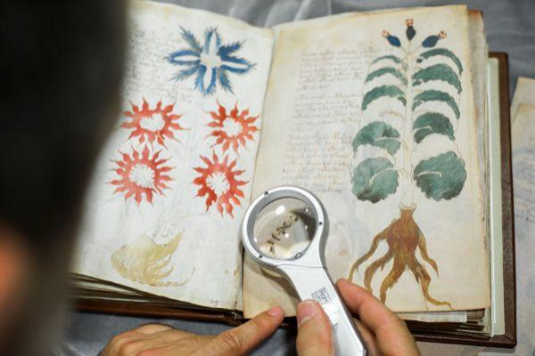 El manuscrito Voynich, en imagen de archivo.