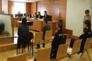 Juicio, este lunes, en la Audiencia Provincial de Castellón.
