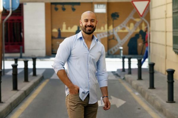 Xavier López, candidato de Podemos a la alcaldía de Alicante