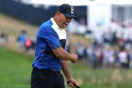 Brooks Koepka celebra su triunfo en el US PGA.