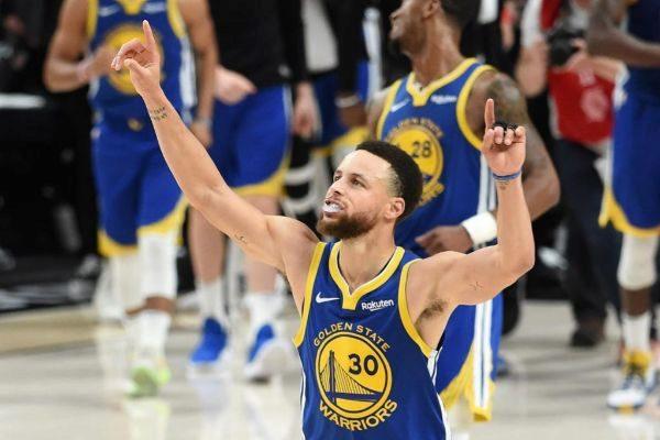 Stephen Curry, durante el partido.