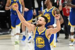 Histórico Curry, históricos Warriors