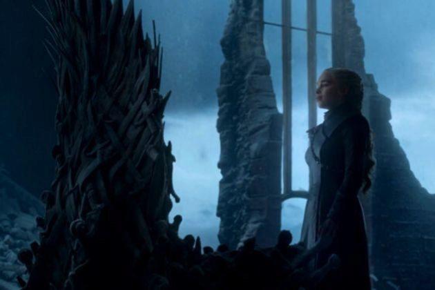 Daenerys Targaryen (Emilia Clarke) en el último episodio de Juego de...
