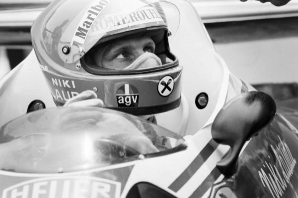 Niki Lauda, durante el Mundial de 1976.