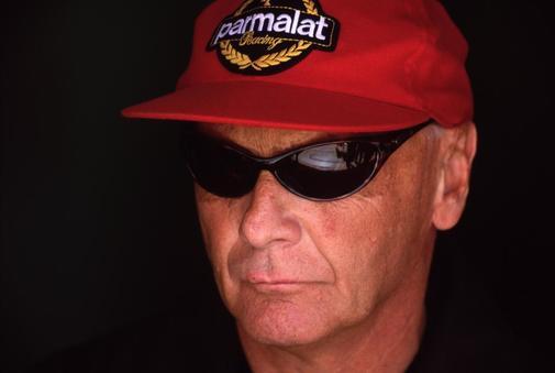 Niki Lauda, en una de sus últimas visitas al paddock.