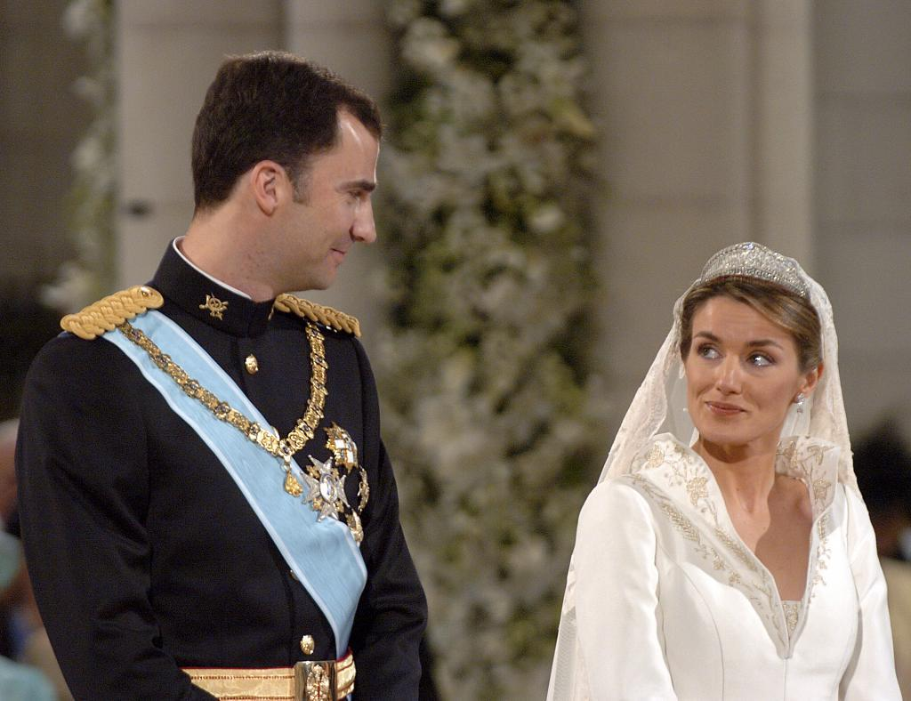 Hoy, 22 de mayo, se cumplen 15 años de la boda entre el entonces...