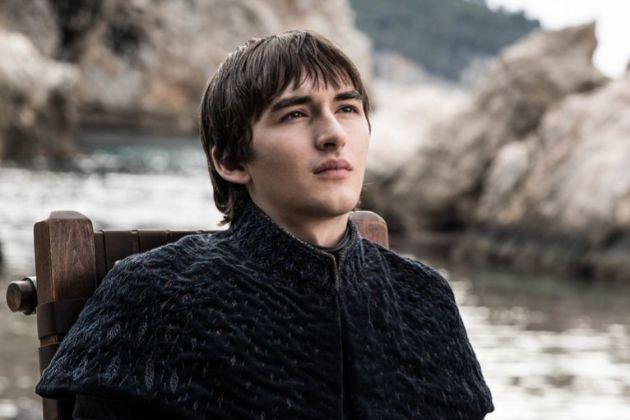 Bran Stark (Isaac Hempstead-Wright) en el último episodio de Juego de...