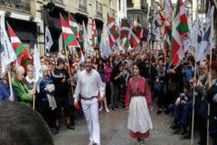 Homenaje al etarra Urizar en Bilbao.