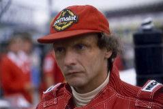 Foto de archivo del tricampeón austriaco de Fórmula1, Niki Lauda.