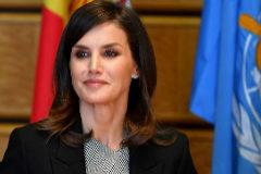 La Reina Letizia en Ginebra