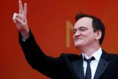 Quentin Tarantino, ayer a su llegada al Festival de Cannes