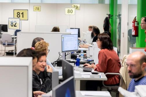 Oficinas centrales de la AEAT en Valladolid.
