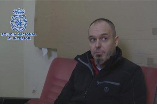 El último jefe de comandos de ETA, Mikel Karrera, en una imagen de...