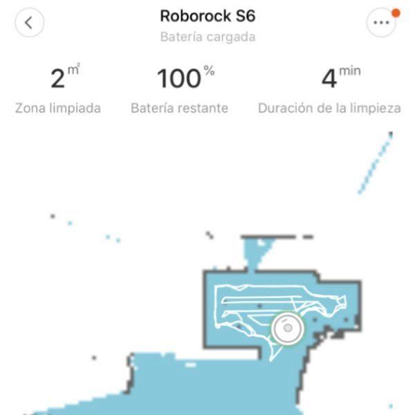 Ejemplo de mapeo de Roborock S6