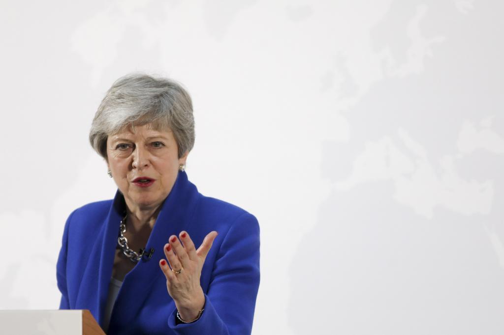 Otro gesto desesperado de May por el Brexit