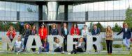 La directora general de RRHH de Mapfre, Elena Sanz, junto a parte de su equipo.