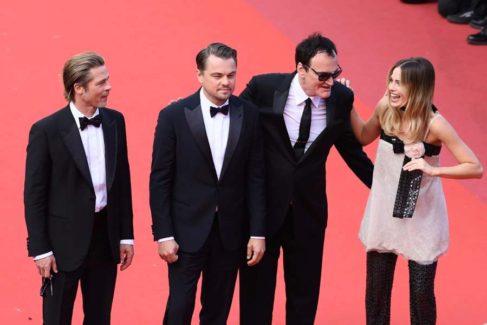 La alfombra roja de 'Érase una vez en Hollywood'