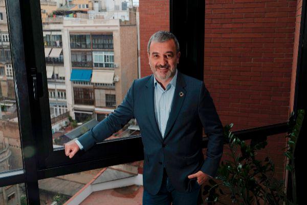 El candidato socialista a la Alcaldía de Barcelona, Jaume Collboni.