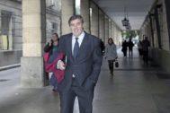 Francisco Álvaro Julio, ex presidente de Invercaria en los juzgados.