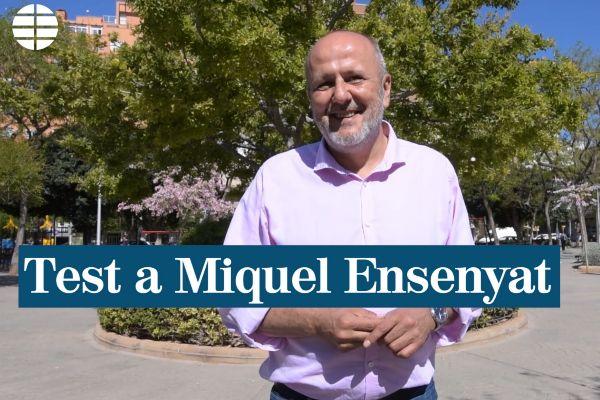 """Miquel Ensenyat: """"Madurar significa aceptar que el culo no te cabe en el columpio"""""""