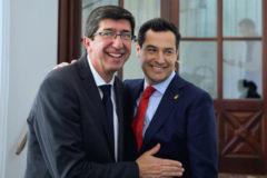 Juan Marín y Juanma Moreno.