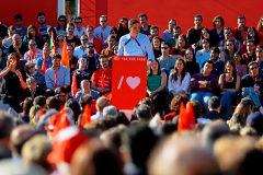 El líder del PSOE, Pedro Sánchez, el pasado 26 de abril en Madrid
