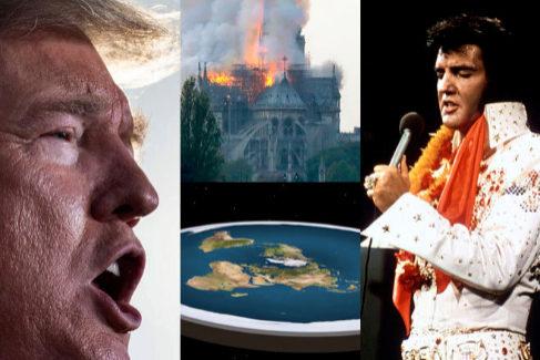 La Tierra es plana, ISIS quemó Notre Dame y otras conspiranoias que triunfan en tu WhatsApp