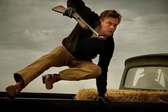 """EPA5556. CANNES (FRANCIA), 21/05/2019.- Fotograma del actor estadounidense Leonardo DiCaprio en una escena de la película """"Once Upon a Time in Hollywood"""" (<HIT>Érase</HIT> una <HIT>vez</HIT> en Hollywood), del director estadounidense Quentin Tarantino. La cinta compite en la sección oficial de la 72º edición del Festival de Cine de Cannes (Francia). EFE/ Cannes Film Festival / Andrew Cooper FOTO CEDIDA/SOLO USO EDITORIAL/PROHIBIDA SU VENTA"""