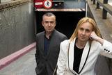 Bernardo Díaz. 20/05/2019. Madrid. Cultura. Literatura. Los escritores, <HIT>Lorenzo</HIT> <HIT>Silva</HIT> y Noemí Trujillo, presentan el libro 'Si esto es una mujer'