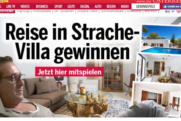 Promoción del periódico 'Österreich'
