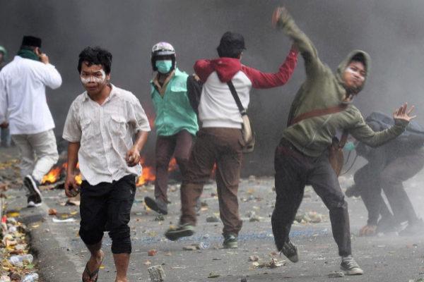 BGS23. YAKARTA (<HIT>INDONESIA</HIT>).- Manifestantes...
