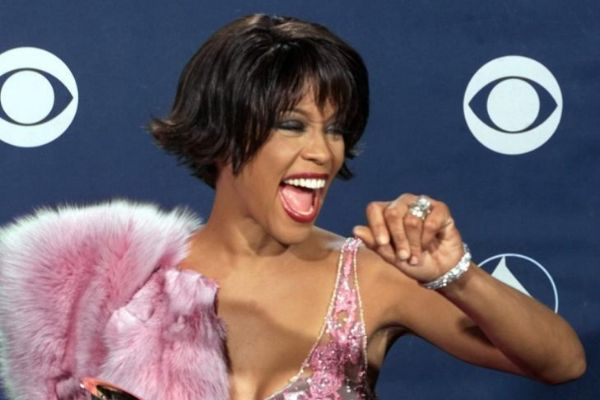 La cantante en la entrega de los Premios Grammy en Los Angeles (2000).