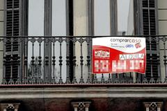 Un piso a la venta en el centro de Barcelona.