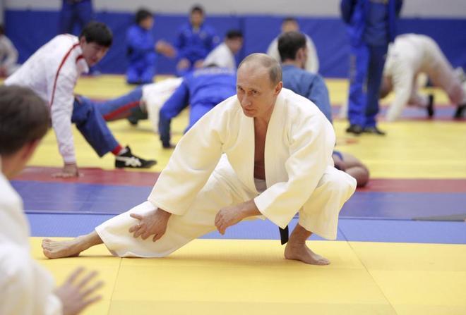 Putin, en una exhibición de judo, en una imagen de archivo.
